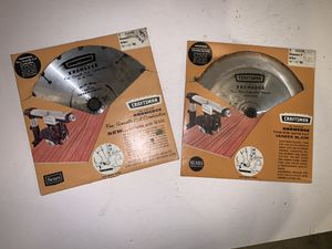 "Two Craftdman 10"" Saw Blades for Sale in Freehold, NJ"