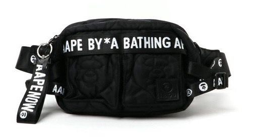 Bathing ape waist bag