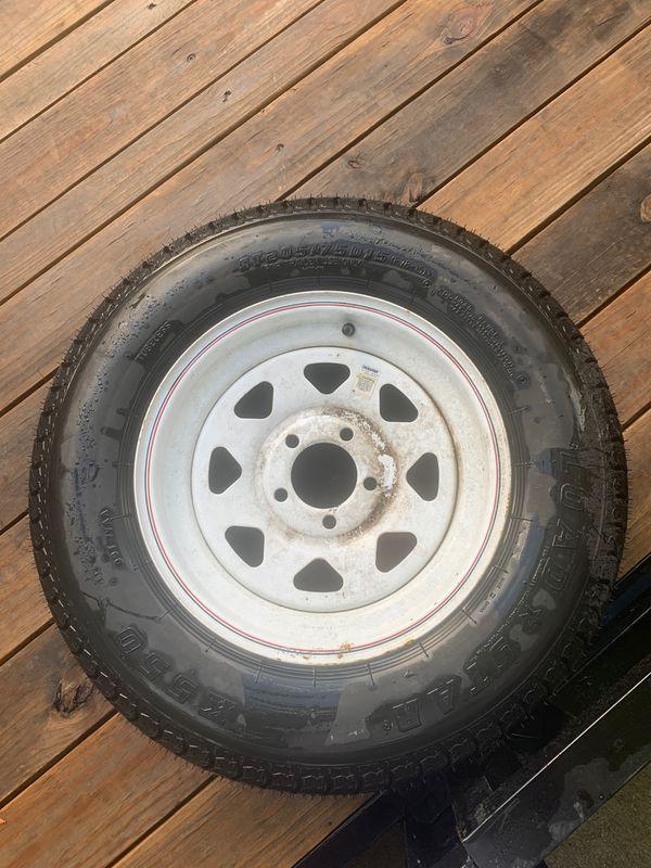 Trailer tire 205/75 D15