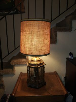 Antique pirate style lamp super cool for Sale in University Place, WA