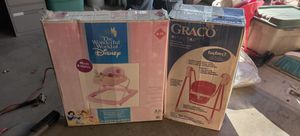 Baby swing and walker for Sale in Bloomington, CA