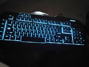 Black web keyboard for Sale in Mercedes, TX