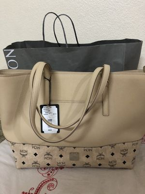 Mcm authentic handbag brand new with tags and dust bag for 450$ only great deal never used perfect gift for Sale in Bellevue, WA