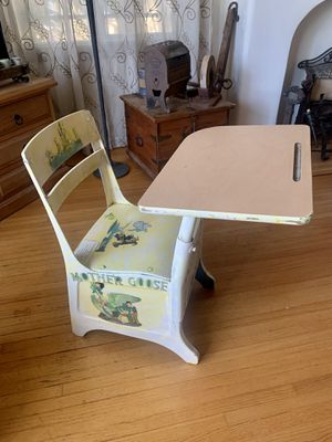 Antique school chair 🪑 for Sale in Long Beach, CA