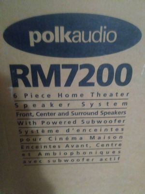 Polk Audio 6 Piece Home Theater Speaker System for Sale in Hollywood, FL