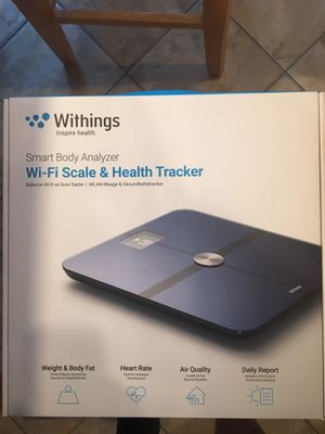 Withings Smart body analyzer for Sale in Mystic Islands, NJ