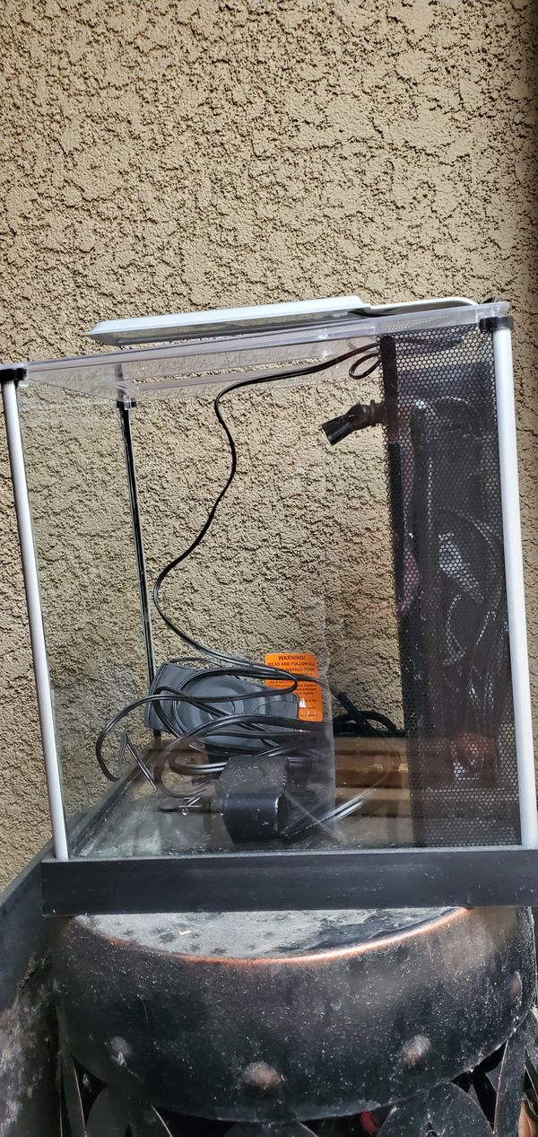 Fluval spec 3.5 gallon aquarium