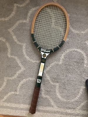 Vintage tennis racket for Sale in Westmont, IL