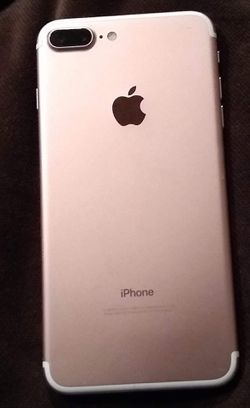 iPhone 7 Plus rose gold for Sale in Prineville,  OR