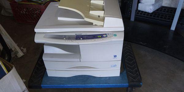 Sharp AL scanner