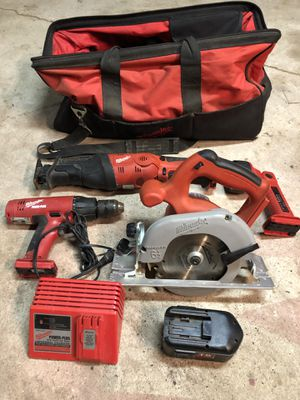 Milwaukee 4-tool set for Sale in Battlefield, MO