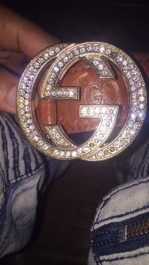 Gucci belt for Sale in Canton, IL