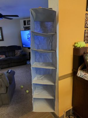 5 pocket Closet Organizer for Sale in Pittsburgh, PA