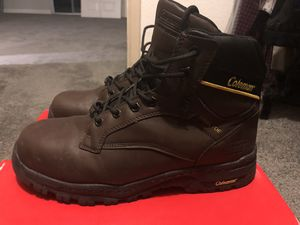 Coleman steel toe work boots (WORN TWICE) for Sale in Oakland, CA