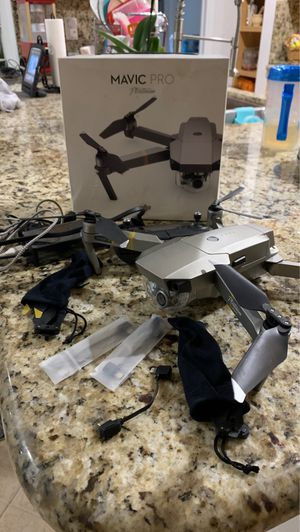 Drone mavic pro platinum for Sale in Boca Raton, FL