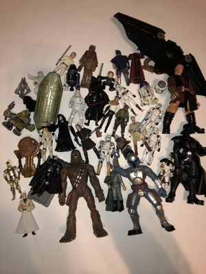 The Star Wars Action Figure Collection for Sale in Springfield, VA