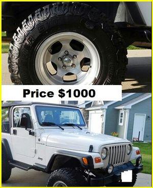 $1000 Jeep Wrangler for Sale in Huber, GA