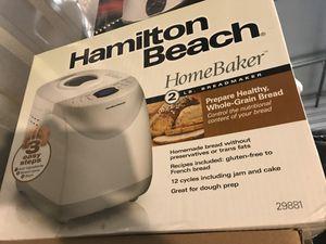 Bread Maker - Hamilton Beach - BRAND NEW for Sale in Rancho Cucamonga, CA