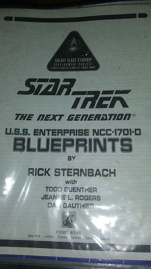 Star Trek blueprints for Sale in Brazil, IN