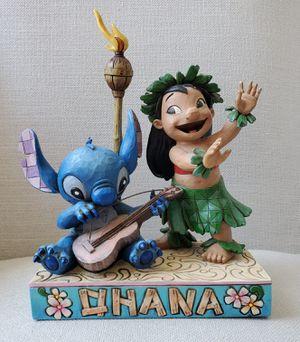 Disney Traditions Lilo & Stitch Ohana Means Family Jim Shore Collectible Statue Rare for Sale in Placentia, CA