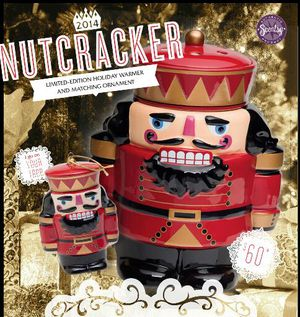 Limited edition brand new in box 2014 scentsy nutcracker warmer. They are all sold out from last year and will never be made again for Sale in Alameda, CA