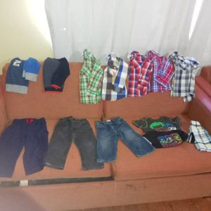 24 months and 2t boy clothes for Sale in San Bernardino, CA