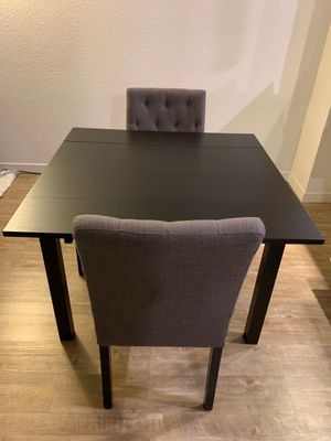 Brown-black dining tables for $120/each; chairs not included for Sale in Sunnyvale, CA