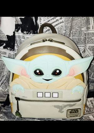 Loungefly baby yoda backpack for Sale in Brandon, FL