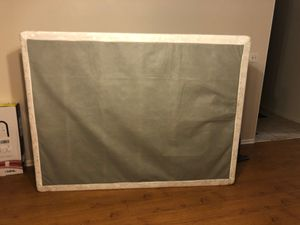 Queen box spring for Sale in Bartlesville, OK