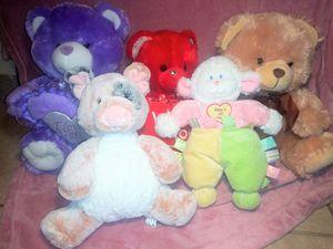 Stuffed Teddy Bears/Animals bundle or single for Sale in San Bernardino, CA