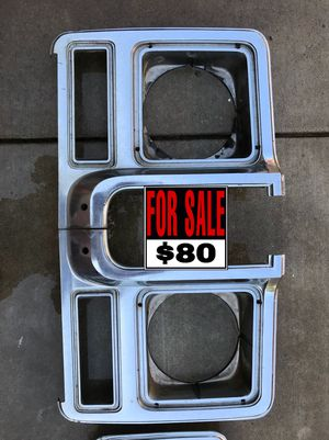 1979 Chevy c10 headlight bezels for Sale in Fresno, CA