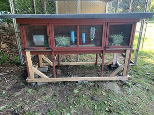 Rabbit cage chicken coop pen house animal cage for Sale in Trumbull, CT