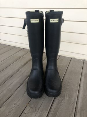Hunter men's Balmoral Adjustable Neoprene Rain Boots size 11 for Sale in Enumclaw, WA