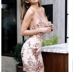 Hello Molly Sequin Backless Dress NWOT for Sale in Highland,  IN