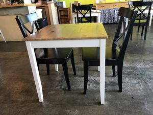 Wood Table + 2 chairs for Sale in San Diego, CA