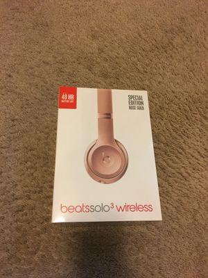 Beats Solo3 Wireless Headphones for Sale in Detroit, MI