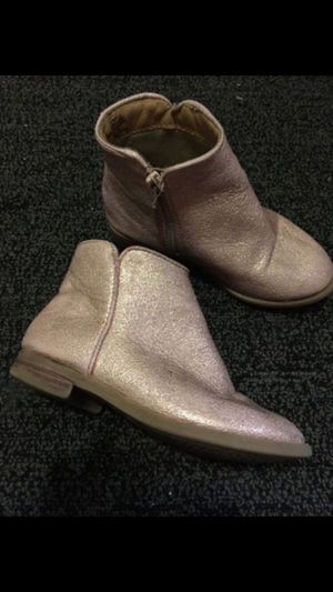 Toddler girl pink glitter boots botas botitas rositas brillo de niña for Sale in San Jose, CA