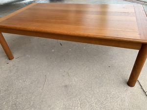 Teak coffee table for Sale in Chandler, AZ