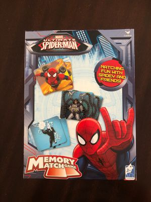 Spider-Man match game for Sale in Campbell, CA