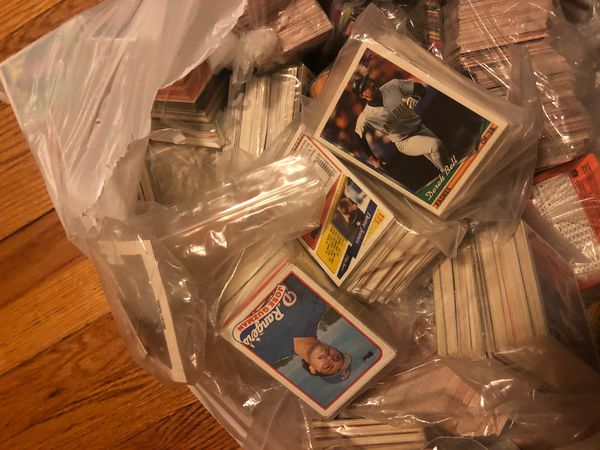 Baseball cards (tons and tons)