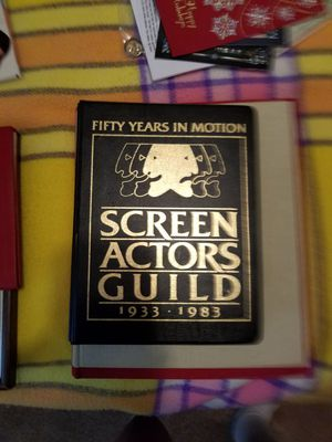 Screen Actors Guild weekly planner 50 years in motion if your a sag member and you don't have this you should have one for Sale in New Port Richey, FL