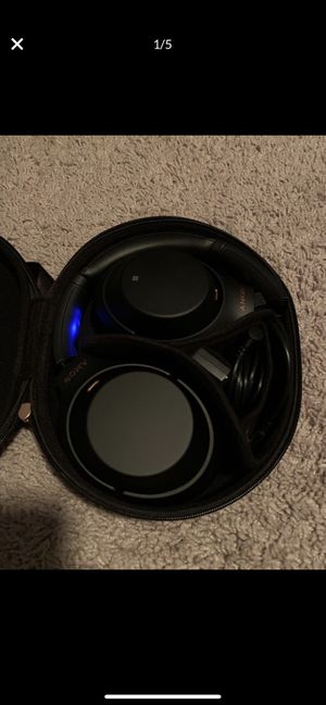 Sony Noise-Cancelling Headphones WH-1000XM3 for Sale in Chesapeake, VA