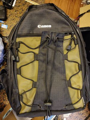 Canon camera backpack for Sale in Chicago, IL