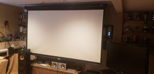 "106"" Pull down screen for projector for Sale in Lynnwood, WA"
