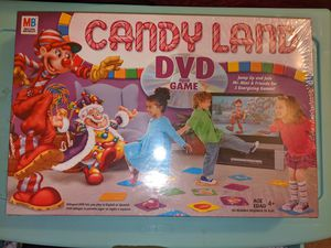 *NEW* CANDY LAND DVD Game Candyland Board Game Toddlers Preschool Great Fun 4+ for Sale in Silver Spring, MD
