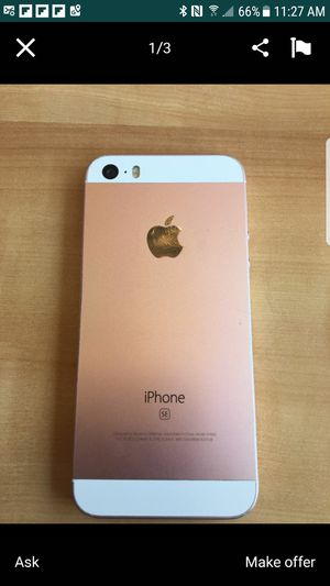 Iphone 5 se unlocked for Sale in Portland, OR