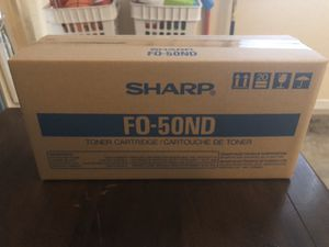 Sharp toner cartridge FO-50nd NEW for Sale in Cumming, GA