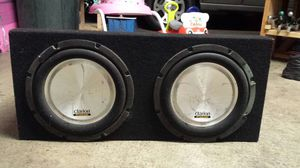 Bass SPEAKER BOX 2 12S for Sale in Lynwood, CA
