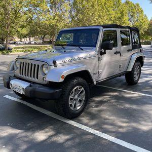 2015 Jeep Wrangler Rubicon 4x4 4 Door Low Miles for Sale in Danville, CA