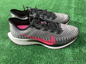 Nike Shoes Zoom Pegasus Turbo 2 Men's Running Shoe AT2863-007 Black/Pink Blast Sz 10.5 for Sale in Lakeside, CA